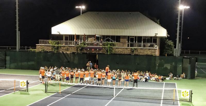 Tiger Tennis Camp 2012 Opening .jpg