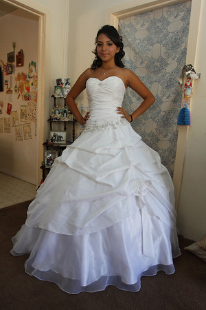 Felicia's Quinceanera Getting Ready