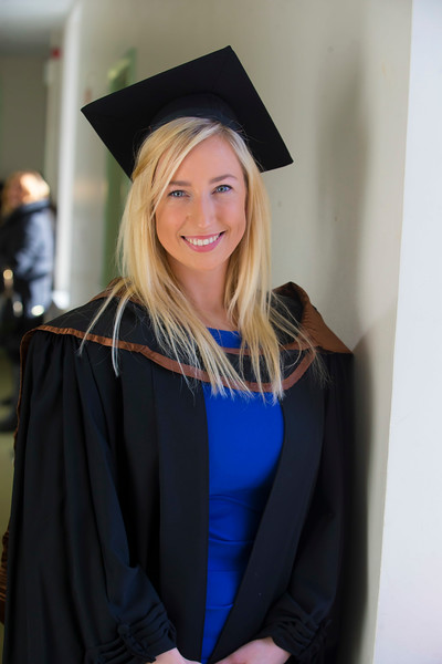 01/11/2018. Waterford Institute of Technology (WIT) Conferring Ceremonies 2018. Pictured is Amy O'Niell Tipperary. Picture: Patrick Browne
