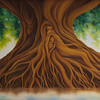 Tree of Life<br /> by Dawn Waters Baker<br /> oil on canvas