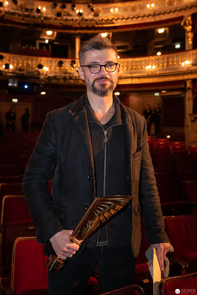 Dušan David Pařizek - Nestroy Verleihung 2018