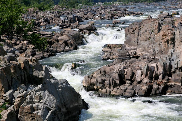 Great Falls in Summer