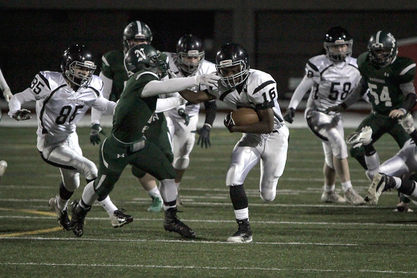 LHS Football vs. Nipmuc (MIAA State Semifinals)