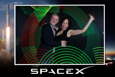05/06/19 - SpaceX 3D Light Painting Event