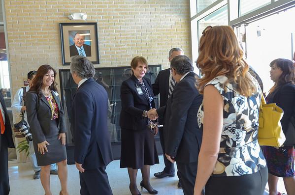 UT Chancellor Visit