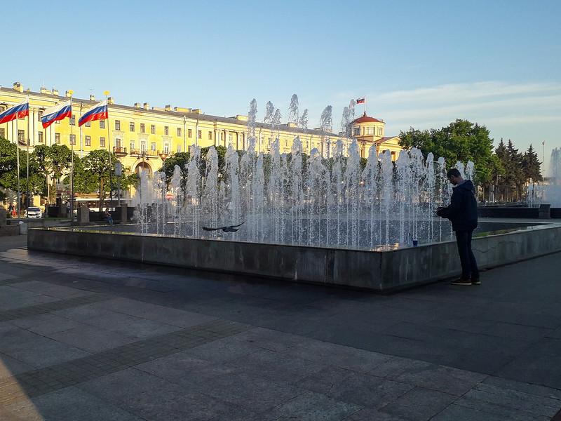 Lenin Square, St. Petersburg