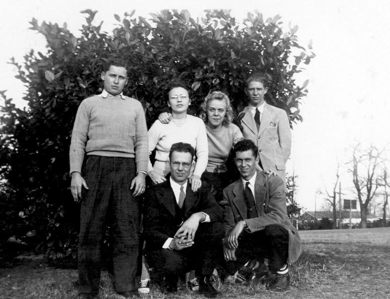 Ruth, Lucius and friends circa 1938