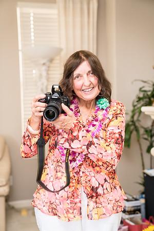 Marguerite Goyne's 80th Birthday Dick Goyne 82nd