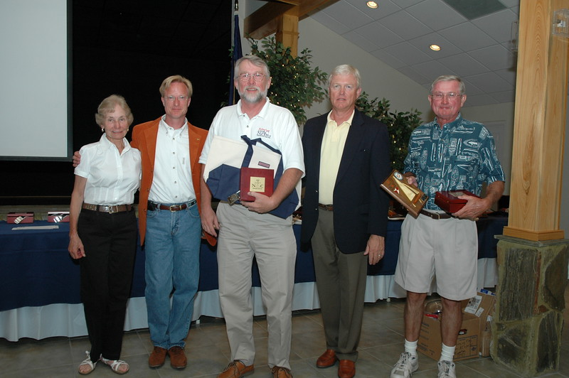 Challenger Division 2nd place awarded the Sam Tellschow Memorial Trophy 32/5357 Tom Clark/Dick Dommell