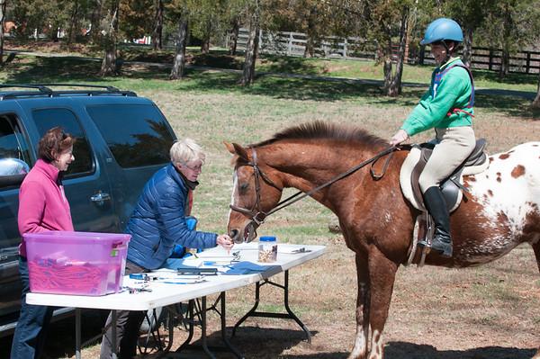 DRHC Pony Club X-Country schooling 4-4-15