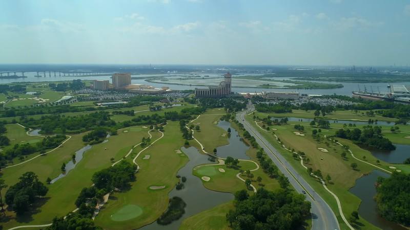 Aerial video LAuberge Casino Resort Lake Charles