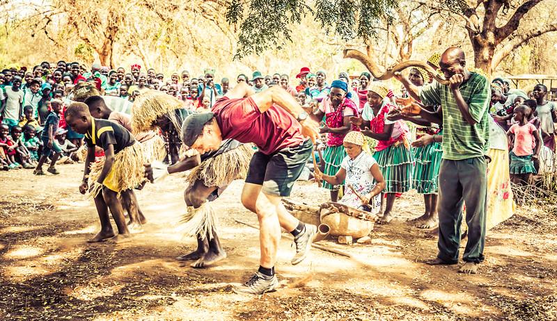 Joseph Mina Dancing up a Storm in Zimbabwe