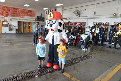 2021 Open House and Fire Department demostration