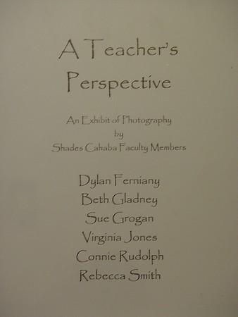 Shades Cahaba Elem. Teacher's Photography - April 2008