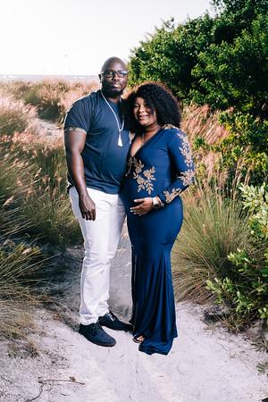Oni Baines Maternity Shoot