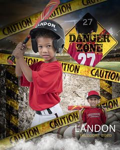 Landan Baseball Picture AllStar 2020