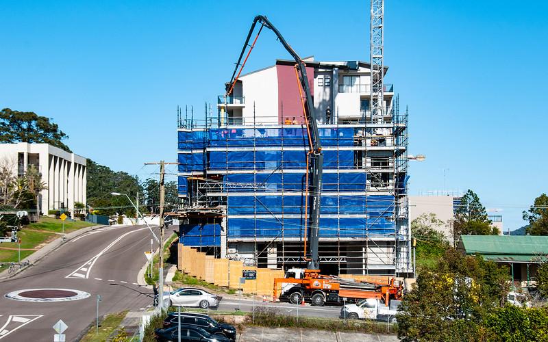 Building progress 107. At 47 Beane St. Gosford. MNTH 2018.