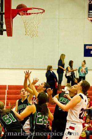 Basketball Girls SHS vs Provo 2-14-2012