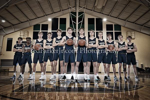 Knights Varsity Basketball Team Photos
