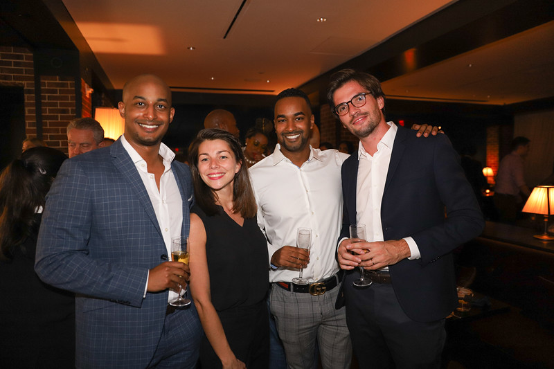 Attractive Young people.  photo by Bruce Allen, Wolfgang Puck Opening Reception 2019