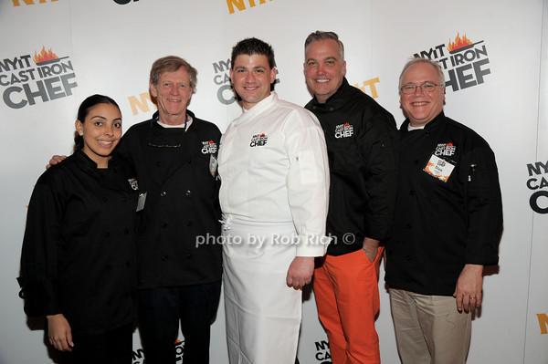 Ana Garcia, Allen Fairbairn, Robert Neumann, Michael Scarpa-Burnett, Dan Quigley photo by Rob Rich/SocietyAllure.com © 2014 robwayne1@aol.com 516-676-3939