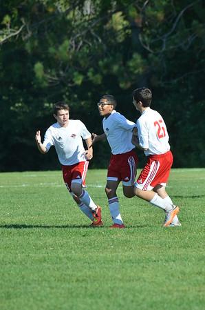 BJV Soccer vs GB 9-16-15