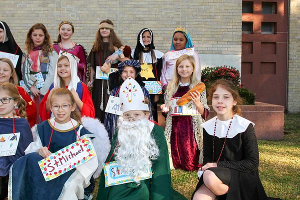 Catholic Schools Week Mass & 4th Living Saints Museum (1.28.19)