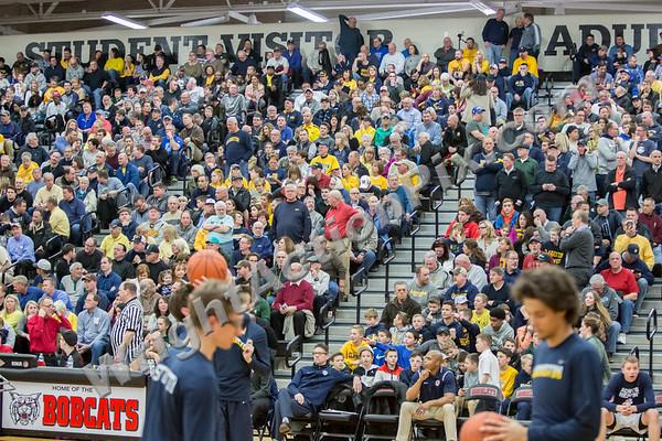 2017 03 13 Clarkston Varsity Basketball vs Macomb Dakota MHSAA Regional Game