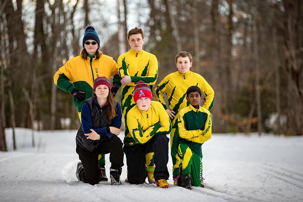 2016-2017 OHMS Nordic Ski Team