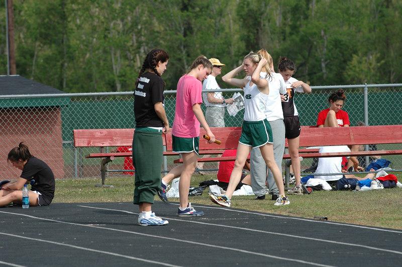 Collins Hill (Suwanee, GA) girls continue their race prep.