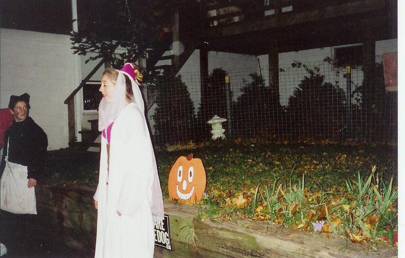 Rachel and Adrian, Halloween.