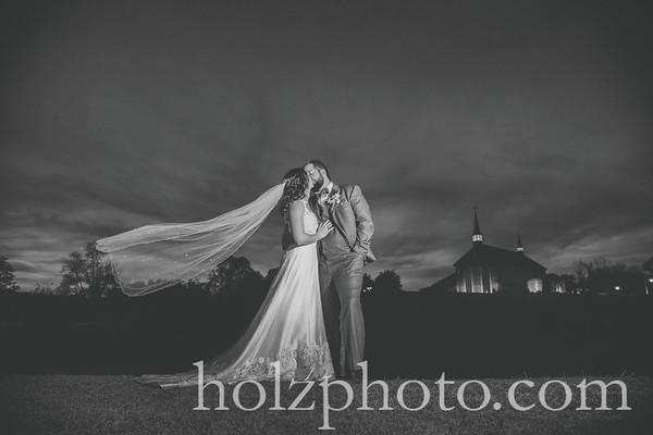 Sarah & Tim B/W Wedding Photos