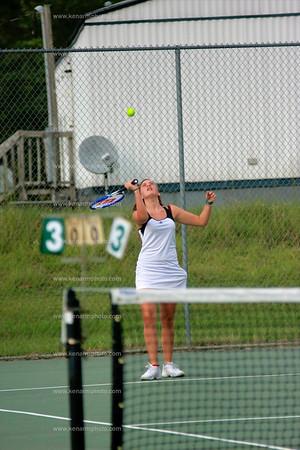 East Bladen girls tennis 2011
