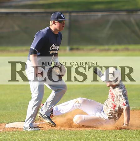 2016 - WVC Baseball vs Olney Central College