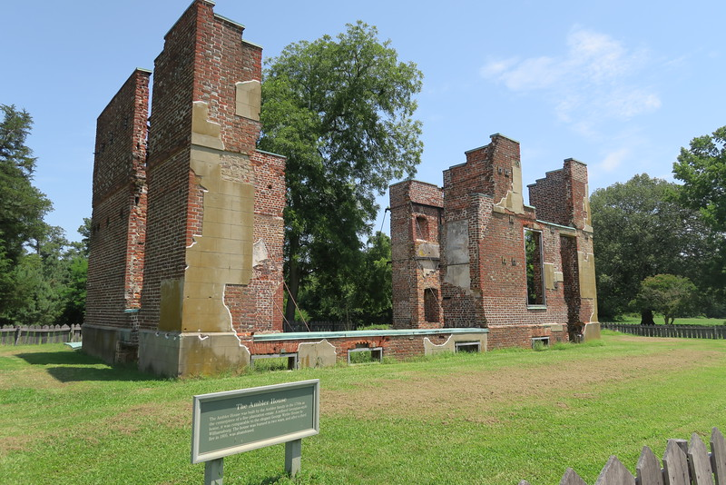 Ambler Mansion Ruins (ca. 1750's)