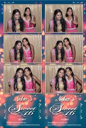 Neha's Sweet 16  10/7/2017