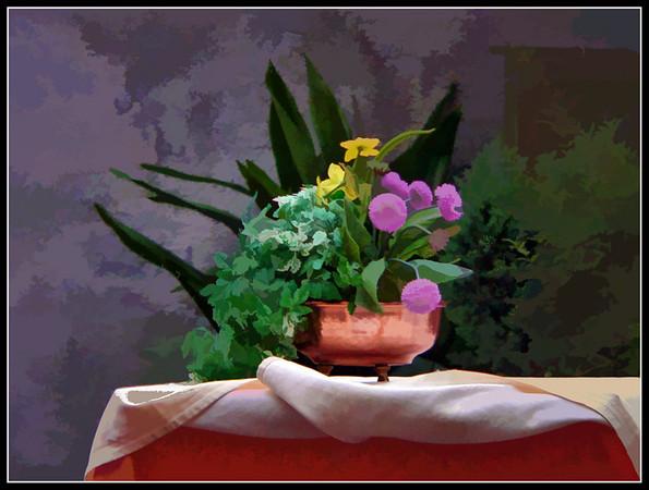 Still life Fantasy - Vases and Pots