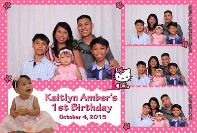 Kaitlyn's 1st Birthday (Mini Open Air Photo Booth)