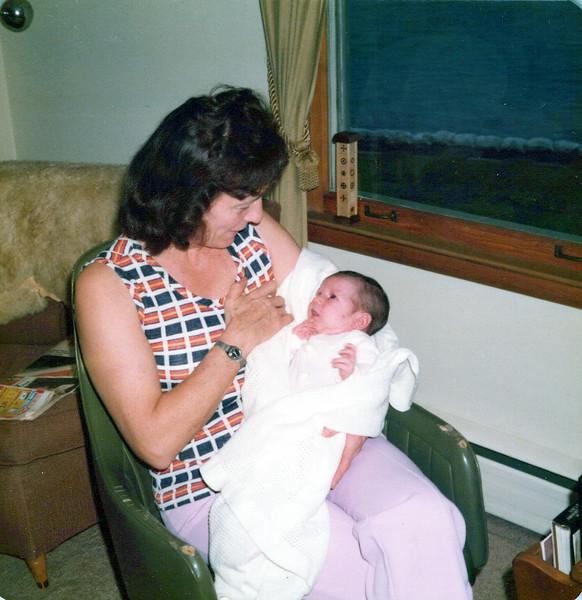 1976 Vivian and a baby.jpeg