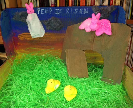 ". ""Peep Has Risen,\"" by Ada Calhoun and Oliver Medlin of Brooklyn, N.Y."
