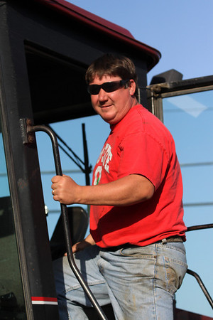 Vermilion-Working in the fields--CASE & JOHN DEERE, October 9, 2010
