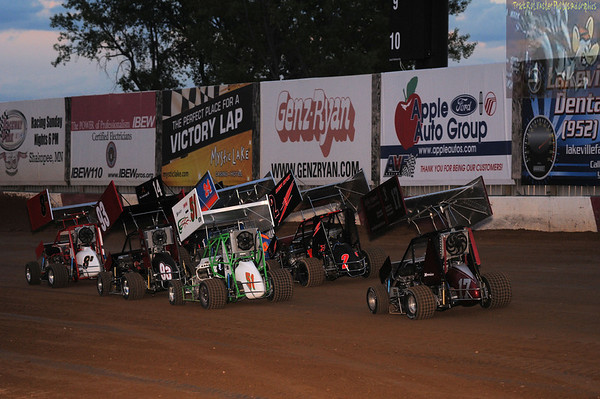 Micro Sprints - July 23, 2010