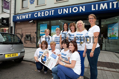 Staff from Newry Credit Union took part in Jeans for Genes day on Friday last to raise much needed monies for the charity. R1439006