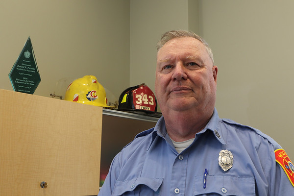 Westford Fire Dept's Don Parsons 042721