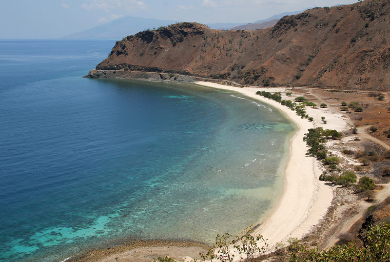 beach just northeast of dili