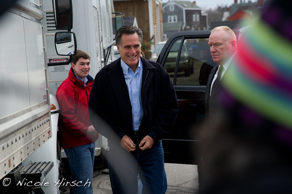 Romney Rally Portsmouth NH 2011