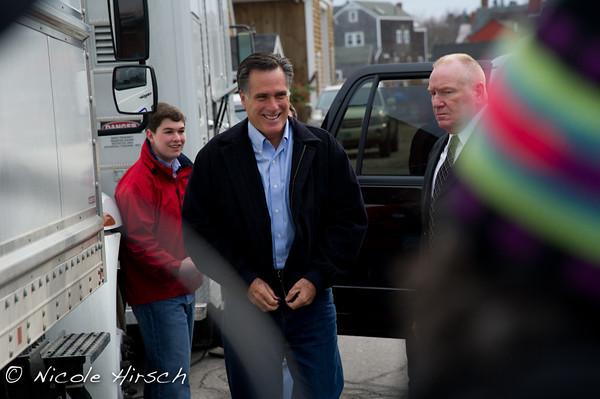 Romney Rally Portsmouth NH 2011
