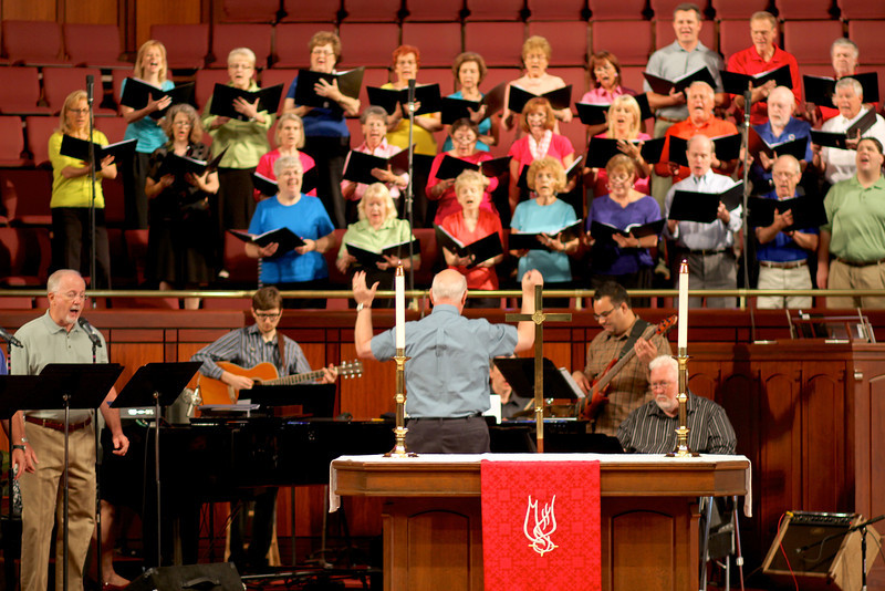 Chancel Choir, June 23, 2013