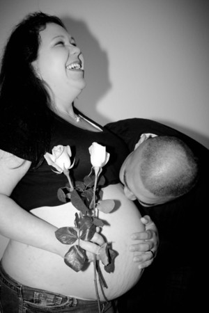 Pregnancy - Danielle & Soap  12-17-12