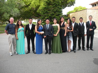 DRILL TEAM MEMBERS GO TO PROM - 2014